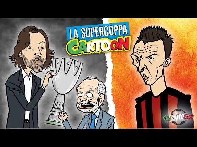 AUTOGOL CARTOON - La Supercoppa e Mandzukic al Milan