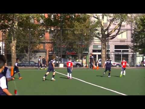 u10/11 Yonkers United Coyotes vs Downtown United, friendly game 9/20/14