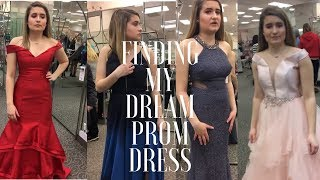 PROM DRESS SHOPPING 2018 | SAYING YES TO THE DRESS // Camsglam