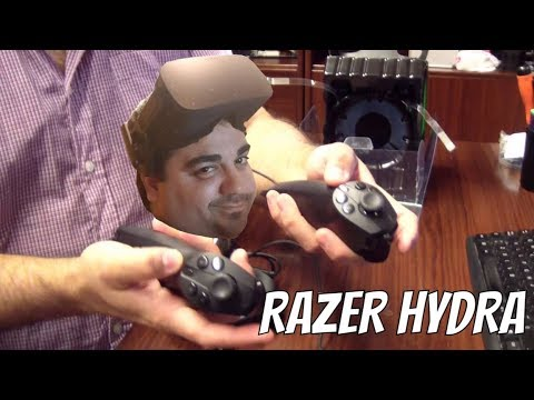 GEAR VR + RIFTCAT + RAZER HYDRA  = HTC VIVE
