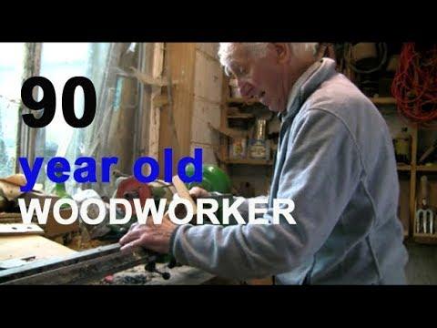 94 year old British woodworker