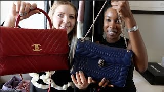 Luxury Unboxings! Chanel Coco Handle Unboxing & BVLGARI Serpenti Forever Bag Unboxing