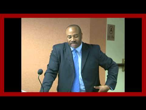 SENATOR DON MEREDITH IS TALKING TO NIGERIAN PROFESSIONALS AND VISIBLE MINORITIES IN CANADA