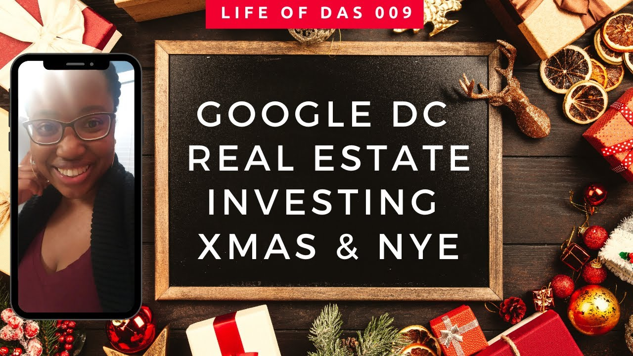 Visiting Google DC. Real Estate Investing. Christmas at Disney World | The Life of DAS 009