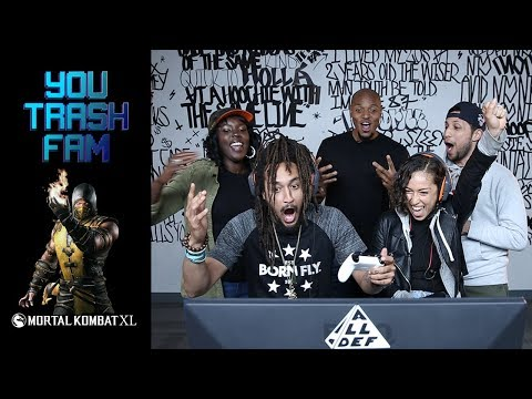 The SquADD Plays Mortal Kombat XL | You Trash Fam