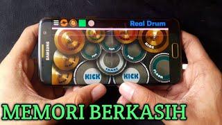 DJ Memori Berkasih Real Drum Cover