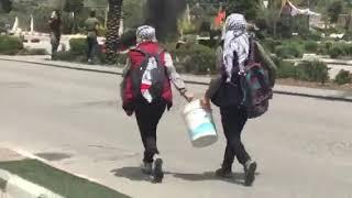Palestinian resistance in al Bireh, near Ramallah