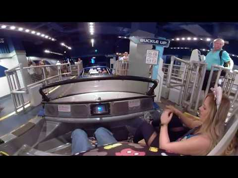 [360° 4K VR POV] Test Track - Front Row Center - Epcot