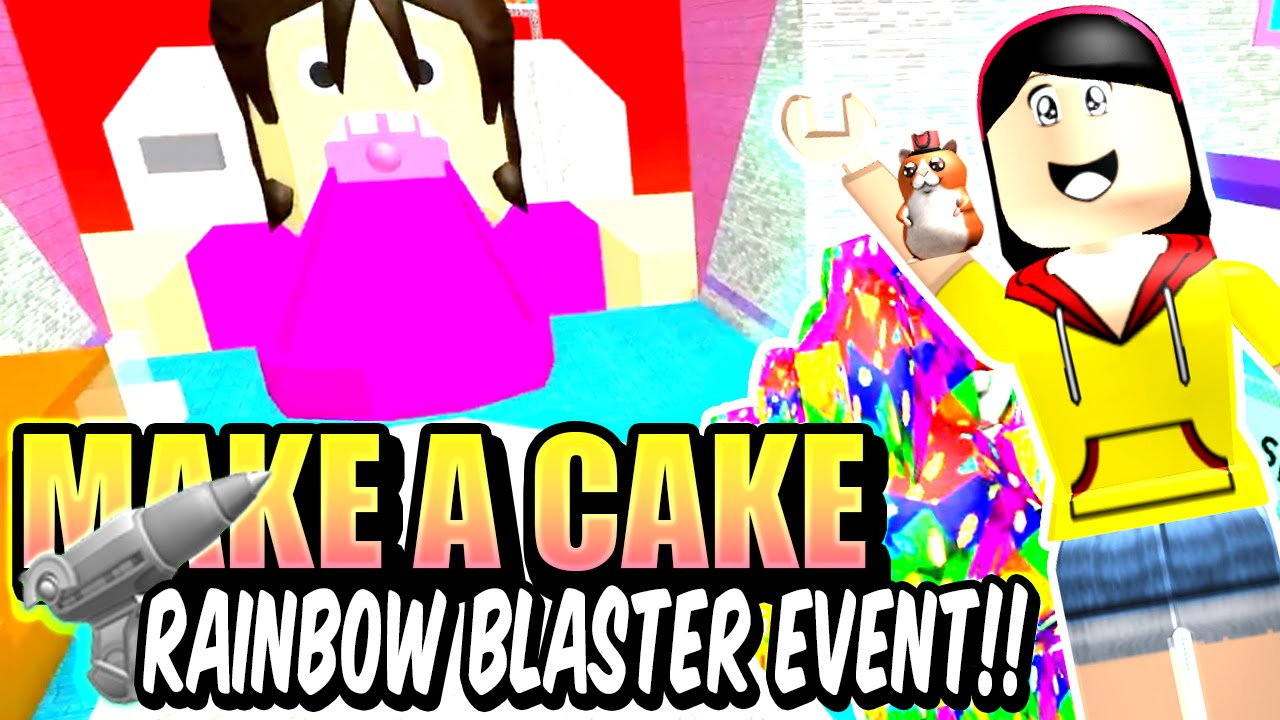 Make A Cake And Feed The Giant Noob Roblox Youtube - Make A Cake Fruity Pebbles Rainbow Blaster Event The Giant