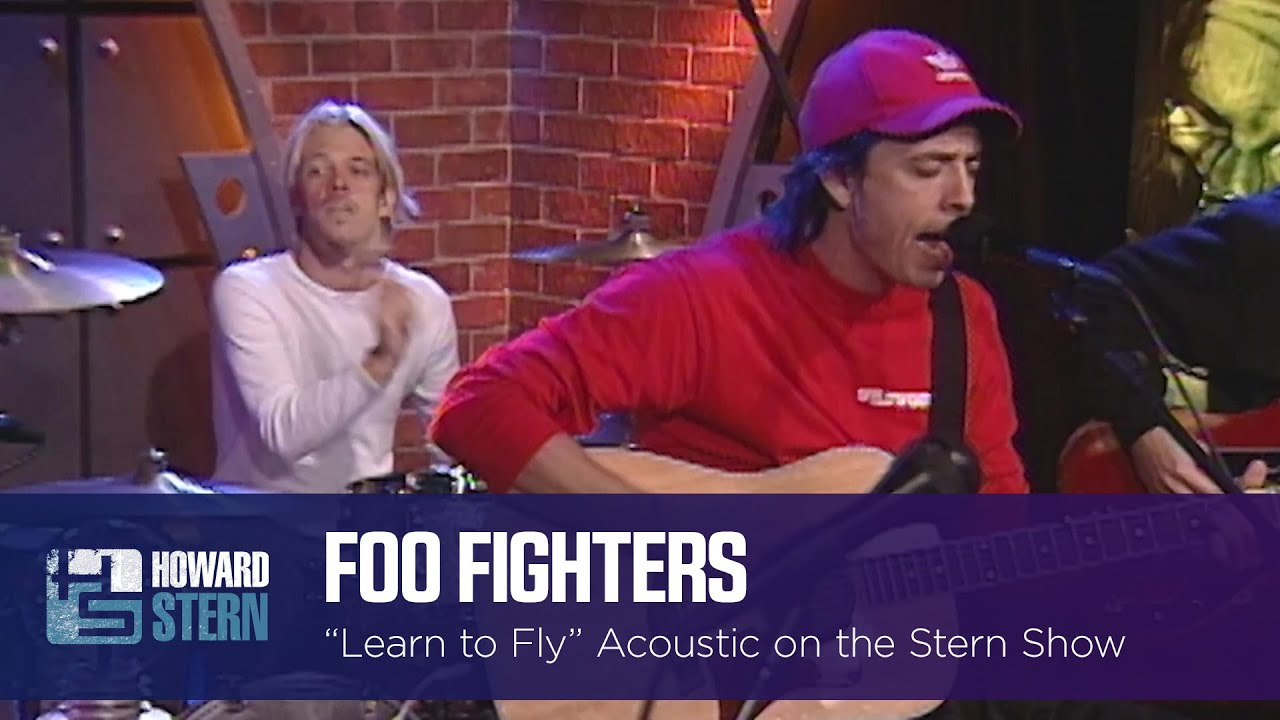 """Foo Fighters """"Learn to Fly"""" Live on the Stern Show (2000)"""