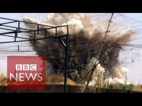 Iraq: Video reveals ISIS regime in Mosul - BBC News