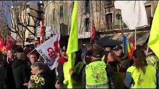 Réforme des retraites : une centaine de manifestants dans le centre ancien de Manosque