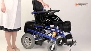 Инвалидная коляска с электроприводом и вертикализатором Доброта Electra Vertical(Высокотехнологичное инвалидное кресло с электрическим механизмом подъема в вертикальное положение (верти..., 2013-07-23T09:45:51.000Z)