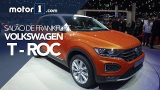Novo Volkswagen T-Roc ao vivo no Salão de Frankfurt | Motor1.com Brasil