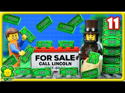 Lego Movie 2 Stop Motion Videos #11   Buy Vacant Land For Sale Succesful