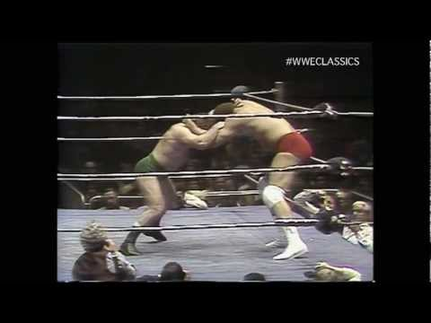 Ernie Ladd vs Bruno Sammartino 3/11/76