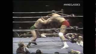 Ernie Ladd vs Bruno Sammartino 3/11/76