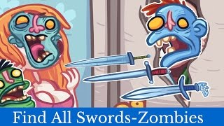 TROLL FACE QUEST TV SHOW All Swords and Zombie Head - Secret Level