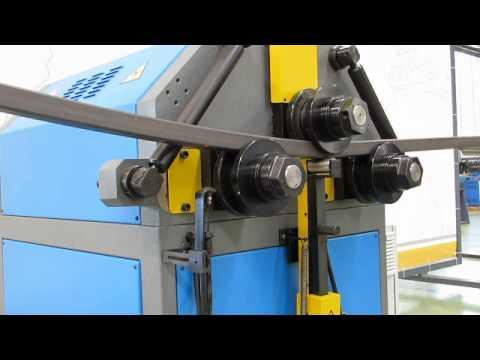 Видео Гибка листового металла в швеллер