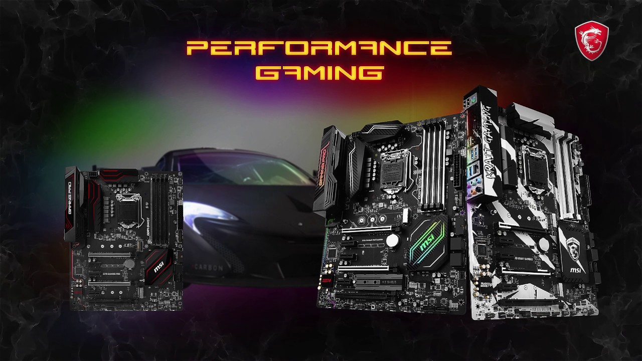 REVOLUTION THEN, EVOLUTION NOW. MEET THE MSI Z270 GAMING MOTHERBOARDS