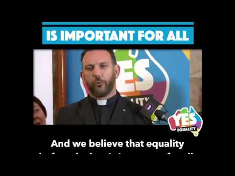"Australian Christians for Marriage Equality: ""It's About Love"""