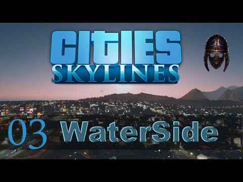 Cities Skylines :: Waterside : Part 3  Road Maintenance  and Trams