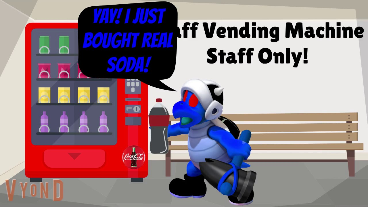 Dark Army Hammer Bro Uses The Staff Vending Machine And Gets Grounded (Reupload)