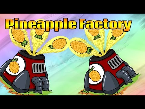 Bloons Tower Defense 6 New Tower Ideas - Pineapple Factory