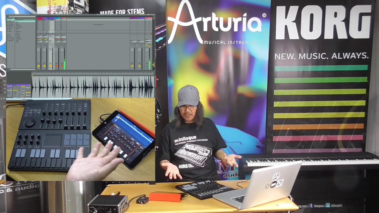 Korg nanoKEY Studio Mobile MIDI Keyboard w/ Bluetooth
