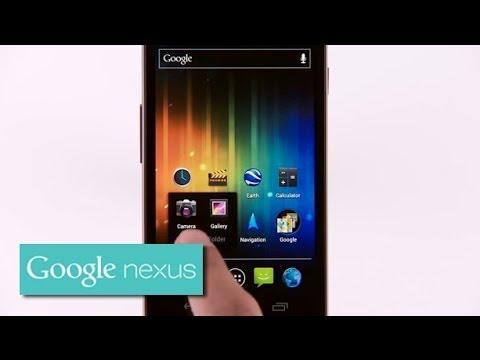 Galaxy Nexus: Create a Folder