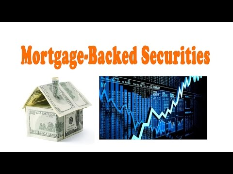 The concept of Mortgage-Backed Securities| Investment Banking| Bengali