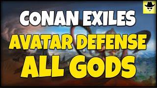 Avatar And Trebuchet Defence - Conan Exiles