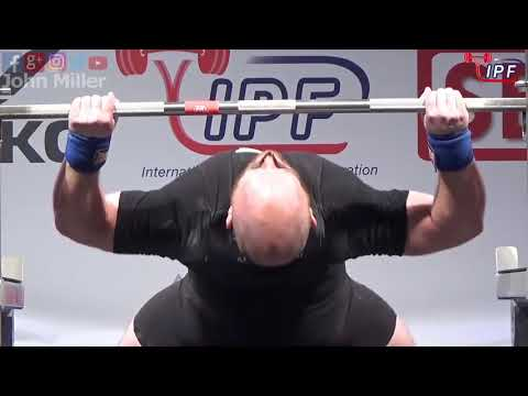 Bryce Lewis - 875.5kg 1st Place 105kg - IPF World Classic Powerlifting Championships 2018