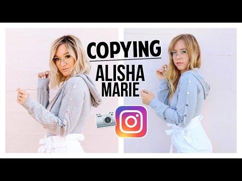 Copying Alisha Marie's Instagram! | Ashley Nichole