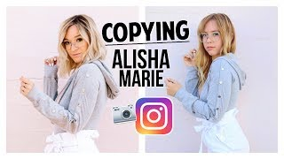 Copying Alisha Marie's Instagram! | Ashley Nichole