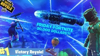 FRIDAY FORTNITE WITH PACK A PUNCHER: 20K Pro Fortnite Tournament