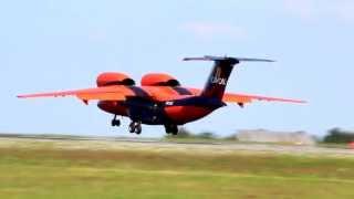 Antonov An-74TK-100 Cavok Air landing in Luxembourg [Full HD]