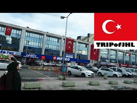 [TRIPofJHL] Traveling on a bus from Bursa to Istanbul