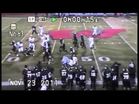 Greg Jones #6 Football Highlights