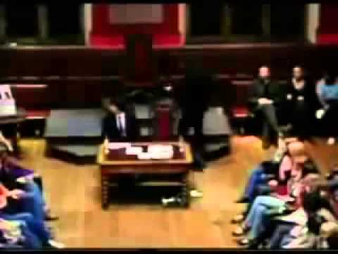Russell Brand Calling for Revolution at the Oxford Union