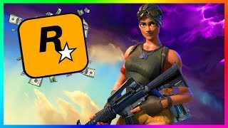 Fortnite Is Taking Money From GTA Online & Rockstar Games!