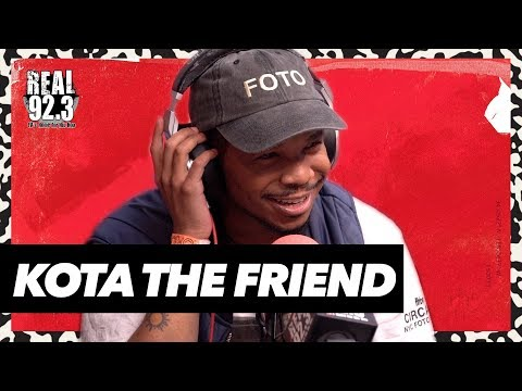 Bootleg Kev - Kota the Friend Freestyles Over Classic Kanye West Beat