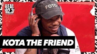 Kota the Friend Freestyles Over Classic Kanye Beat | Bootleg Kev & DJ Hed