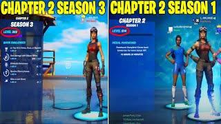 HIGHEST LEVEL FORTNITE PLAYER IN CHAPTER 2 SEASON 3! (LEVEL 300) / LEVEL 600+ IN CHAPTER 2 SEASON 1!