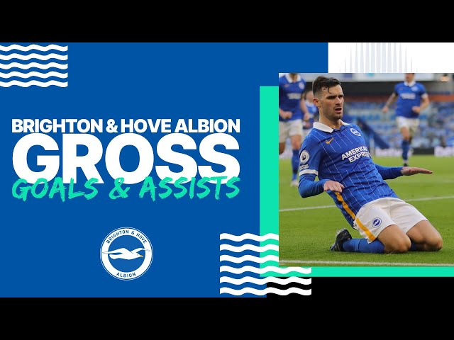 Pascal Gross's 2020/21 Goals and Assists