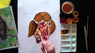 Урок рисования для детей 5-10 лет.
