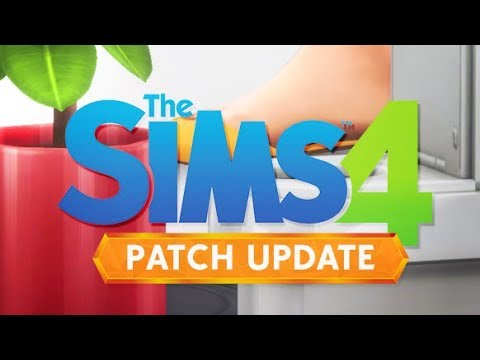 NEW COUNTER SWATCHES,  ROOFS + SHRINK OBJECTS? | THE SIMS 4 // FREE PATCH UPDATE