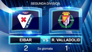 Segunda Division, Eibar-Valladolid 2-1