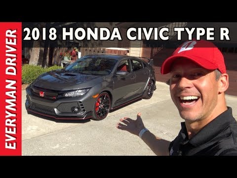 Just Arrived: 2017 Honda Civic Type R on Everyman Driver