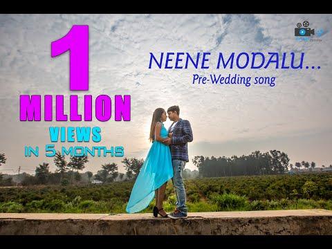 neene-modalu-neene-kone-|-kiss-|-kannada-movie-|-shivakumar-and-mala-|-cinematic-pre-wedding-song.